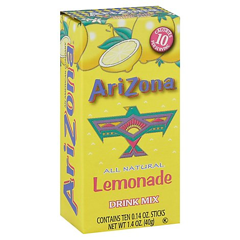 Arizona Lemonade Drink Mix - 1.41 Oz