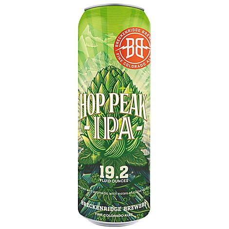 Breckenridge Hop Peak Ipa In Cans - 19.2 Fl. Oz.