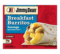Jd Breakfast Burritos Sausage - 17 Oz