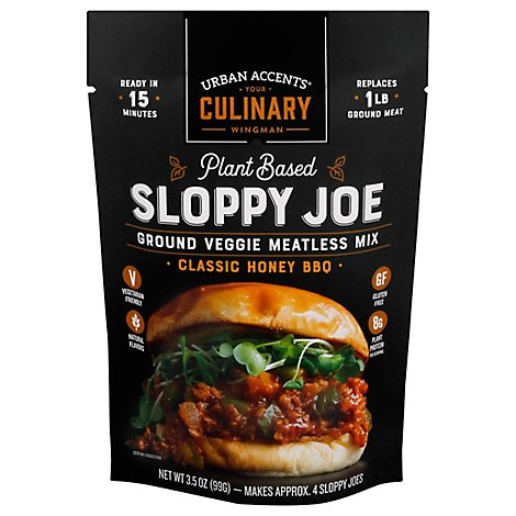 Urban Accents Meatless Mix Sloppy Joe - 3.5 Oz