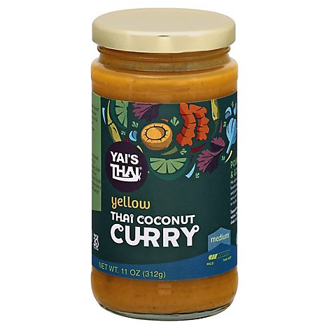 Yais Thai Sauce Thai Ccnt Curry Yllw - 10 Oz