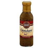 Gaucho Ranch Sauce Chimchrri Hot - 12.5 Oz