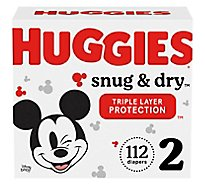 Huggies Snug And Dry Giga 2 - 112 Count
