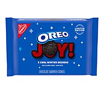OREO Double Stuf Sandwich Cookies Holiday Winter - 20 Oz