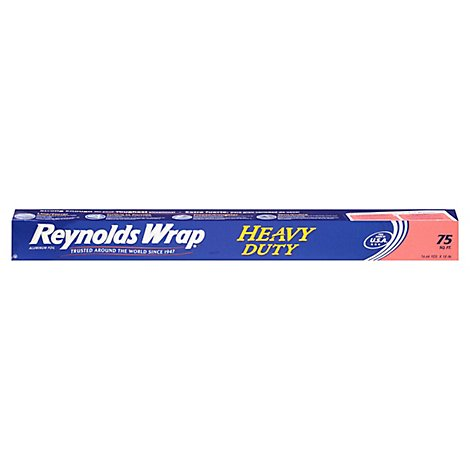 Reynolds Wrap Heavy Duty Aluminum Foil - 75 Sq. Ft.