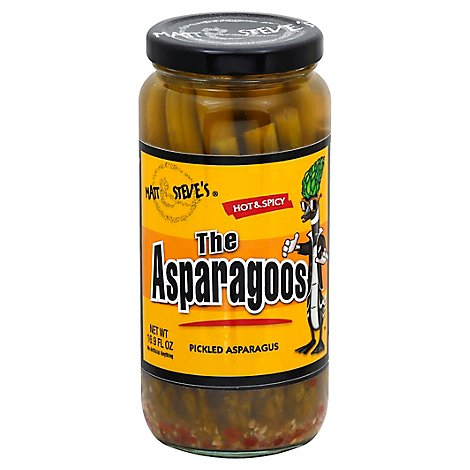 The Asparagoos Hot & Spicy Asparagus - 16 Oz