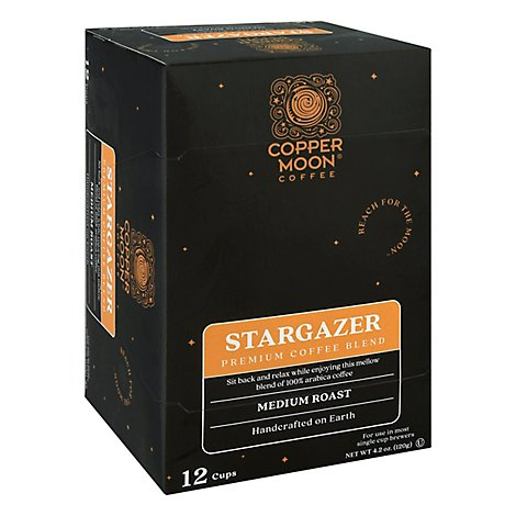 Copper Moon Coffee Cup Stargazer - 12 Count