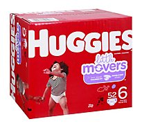 Huggies Little Movers Giga 6 - 52 Count