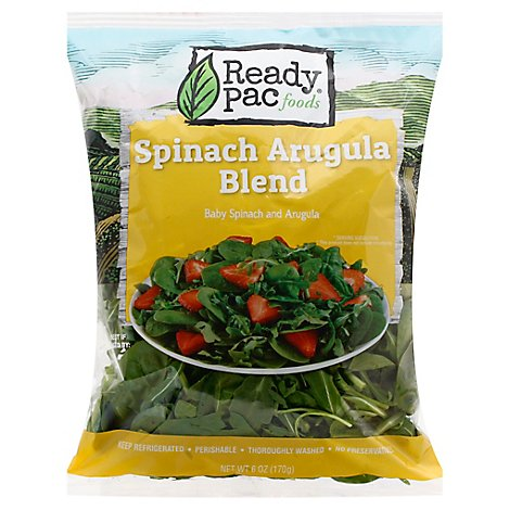 Ready Pack Spinach Arugula Blend - 6 Oz