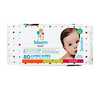 Bloom Rsl Baby Wipes - 80 Count