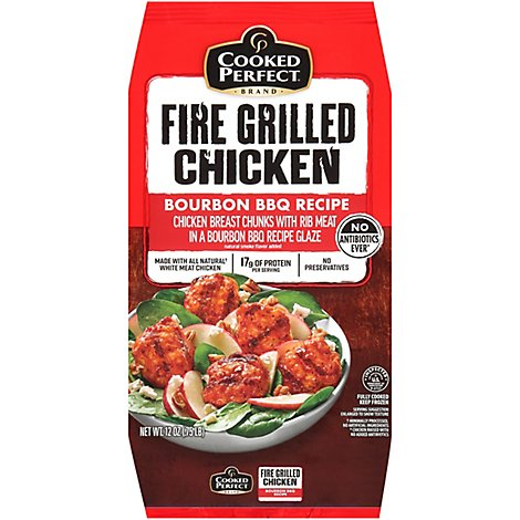 Cooked Perfect Bourbon Barbeque Fire Grilled Chicken - 12 Oz.