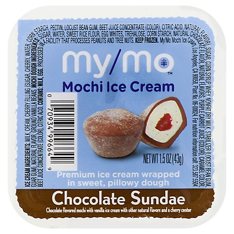My Mo Chocolate Sundae Mochi Ice Cream - 1.5 Oz.