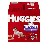 Huggies Little Movers Giga 3 - 84 Count