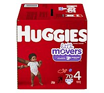 Huggies Little Movers Giga 4 - 70 Count