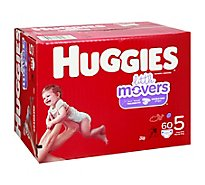 Huggies Little Movers Giga 5 - 60 Count