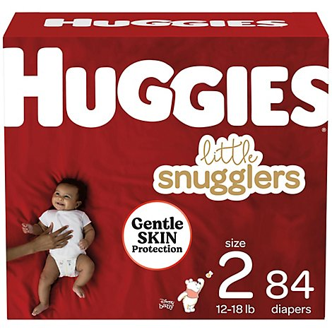 Huggies Little Snuggler Giga  2 - 84 Count