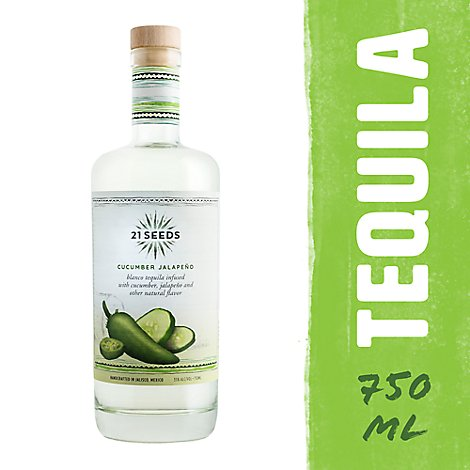 21 Seeds Tequila Cucumber - 750 Ml