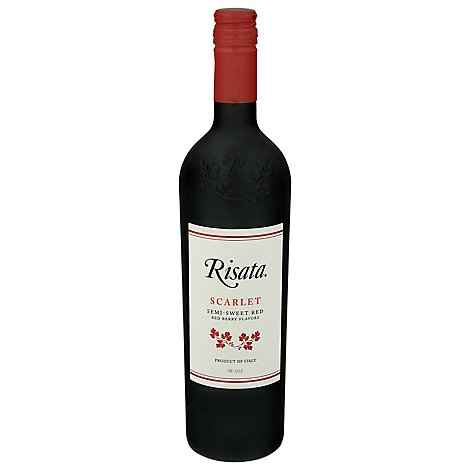 Risata Scarlet Wine - 750 Ml