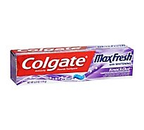 Colgate Max Fresh Toothpaste With Whitening KnockOut - 6 Oz