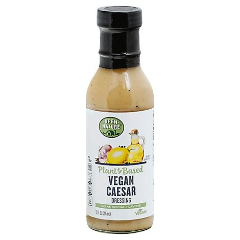 Open Nature Dressing Caesar Vegan - 12 Fl. Oz.