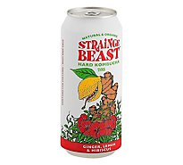 Strainge Beast Kombucha In Cans - 16 Fl. Oz.