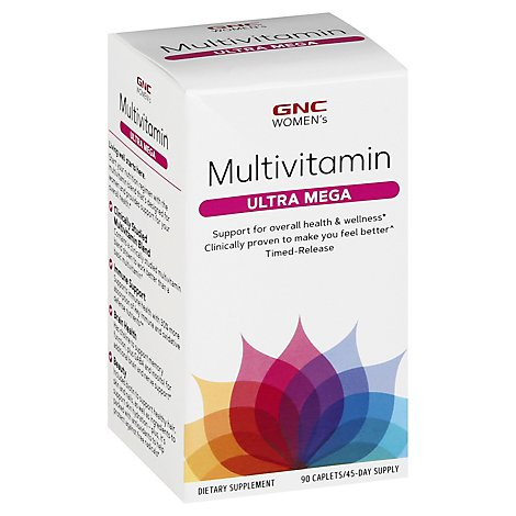 Gnc Wmns Ultra Mega Multi - 90 Count