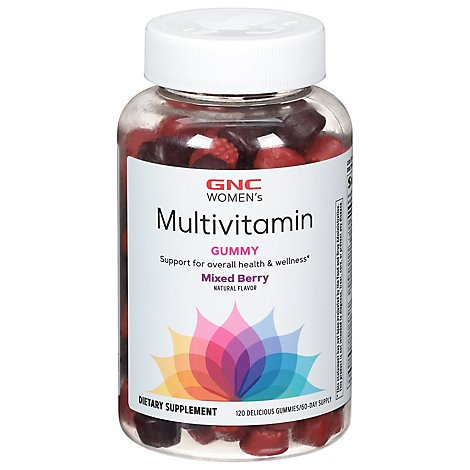 Gnc Wmns Ultra Mega Multi Gummy - 120 Count