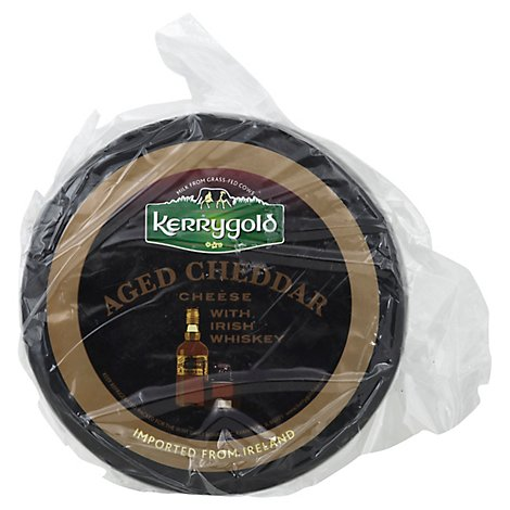 Kerrygold Aged Cheddar Cheese With Irish Whiskey - 1 Lb.
