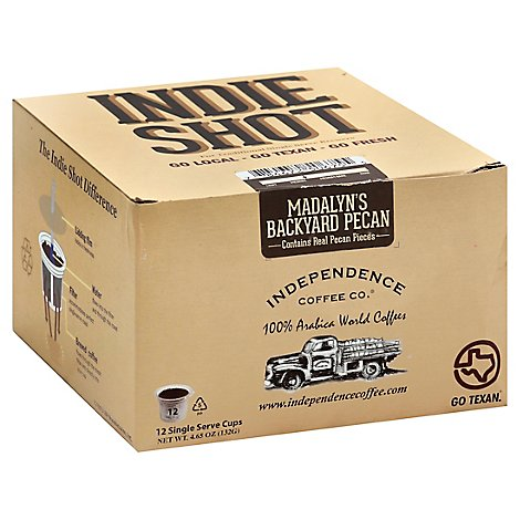 Indpndnc Coff Co Coff Ss Backyrd Pecans - 1 Each