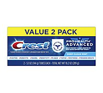 Crest Pro Health Advanced Toothpaste Deep Clean Mint - 2-5.1 Oz