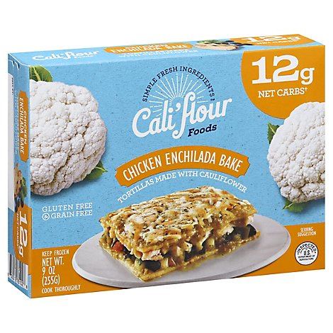 Califlour Entree Enchilada Chicken - 9 Oz