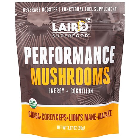 Laird Superfood Performance Mushrooms - 3.17 Oz