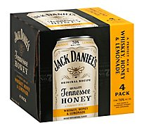 Jack Daniels Honey & Lemonade Rtd - 4-12 Fl. Oz.