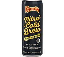 Kahlua Nitro Cold Brew 4pk - 4-200 Ml