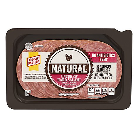 OSCAR MAYER Natural Salami - 6 Oz.