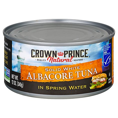 Crown Prin Tuna Albcr Sprng - 12 Oz