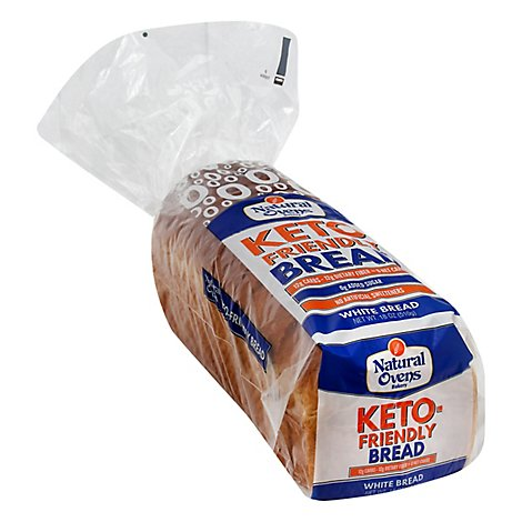 Natural Ovens Keto Friendly White Bread - 18 Oz.