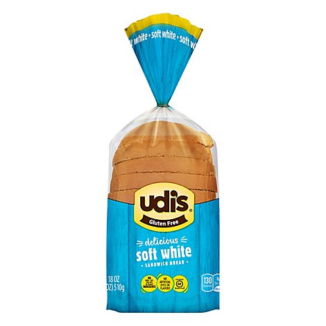 Udisbread Loaves White Frozen - 18 Oz