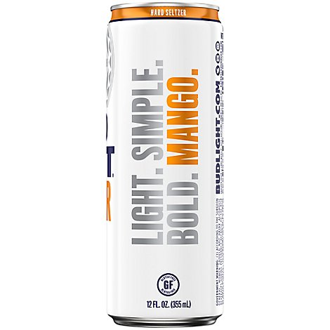 Bud Light Seltzer Mango In The Can - 12 Fl. Oz.