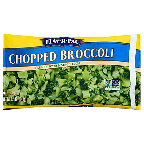 Flav R Pac Chopped Broccoli - 12 Oz