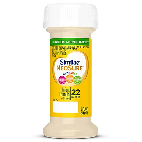 Similac NeoSure Infant Formula With Iron Ready To Feed - 8-2 Fl. Oz.