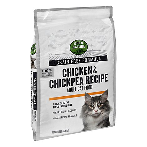 Open Nature Cat Food Chicken & Chickpea Grain Free - 16 Lb