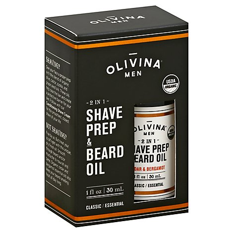 Olivina Men Beard Oil - 1 Oz