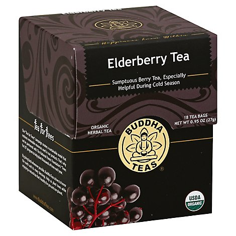Buddha Teas Elderberry - 1 Each