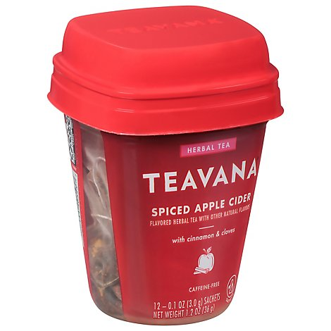 Teavana Tea Spiced Apple Cider Filter Bag - 12 Count