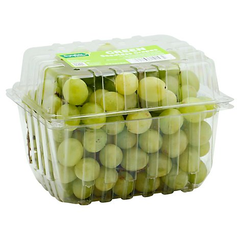 Signature Farms Green Seedless Grapes - 2 Lb
