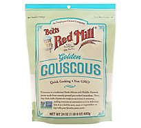 Bobs Red Mill Couscous Golden Quick Cooking Non GMO - 24 Oz