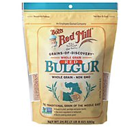 Bobs Red Mill Grains Of Discovery Bulgur Red Whole Grain Non GMO - 24 Oz