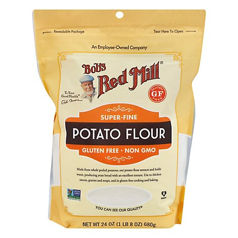 Bobs Red Mill Flour Potato Super Fine Gluten Free - 24 Oz