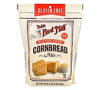 Bobs Red Mill Cornbread Mix Gluten Free - 20 Oz